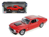 1970 Ford Mustang Boss 429 Red 1:18 Diecast Model - 73154r *