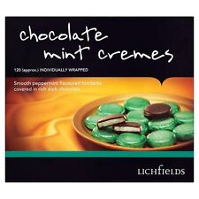 LICHFIELDS CHOCOLATE MINT CREMES 1kg CATERING BOX WHOLESALE DISCOUNT 142849