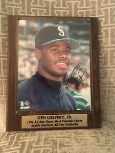 Ken Griffey Jr. Autographed Plaque