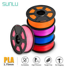 SUNLU 3D Printer Filament PLA 1.75mm 1KG/2.2lb Spool PLA Multicolor Colour