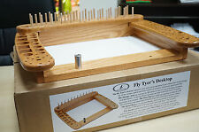 Fly Tyer´s Desktop Wapsi Fly Furniture USA 50 x 40 cm Bindeplatz Eiche Oak