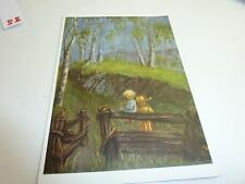 "vintage blank 70` greeting cards  Spötl""morning geating"" #85#"