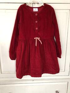 NWT HANNA ANDERSSON corduroy Dress Girl's Sz 130 NEW $49