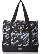 NFL Oakland Raiders Women's Shatter Print Tote Bag