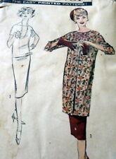 LOVELY VTG 1950s DRESS & COAT ADVANCE Sewing Pattern 20/40 FF