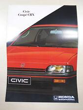 Catalogue HONDA CIVIC CRX