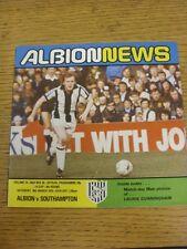 10/03/1979 West Bromwich Albion V Southampton FA Cup []. questo oggetto è stato elaborato