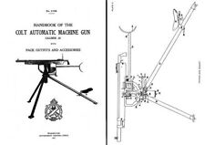 Colt-Browning 1917- M1895 .30 cal Machine Gun (Potato Digger) Handbook
