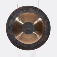 15.5 inch gong Chinese Musical instrument copper with hammer hand forging 40cm