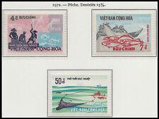 VIETNAM du SUD N°413/415* Pêche, 1972 South VietNam  Fish & Fishing MH