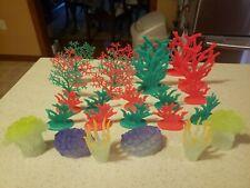 New listing Plastic Aquarium Plants Lot 26 pieces