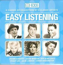 6X6 EASY LISTENING - 6 CLASSIC CD COLLECTIONS BY 6 CLASSIC ARTISTS