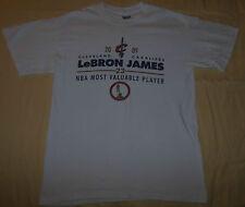 2009 NBA Cleveland Cavaliers T Shirt #23 LeBron James MVP Trophy Season Mens M
