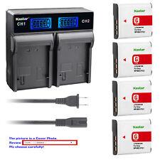 Kastar Battery LCD Rapid Charger for Sony NP-BG1 FG1 NPBG1 NPFG1 Typr G Battery