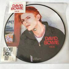"""DAVID BOWIE  - TVC15   - RARE Picture Disc  7"""" VINYL - RSD"""
