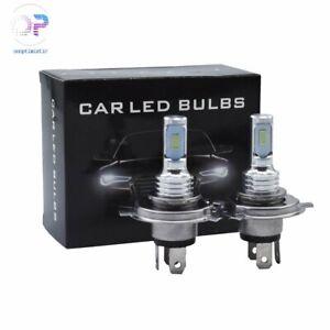 35W 4000LM 8000K Blue H4 9003 HB2 LED Headlight Bulbs Kit High Low Beam Bright