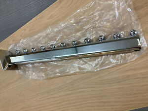 R554 Chrome Slatwall Fittings 11 Ball Sloping Arm BOX OF 10 LAST OF STOCK!