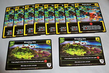 2x BREEDING SITE 8x BATTLE BARGE -PROMO CARDS- 2016 STAR REALMS Game Day - ccg