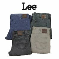 VINTAGE LEE JEANS COLOURED REGULAR FIT DENIM GRADE A 30,31,32,34,36,38