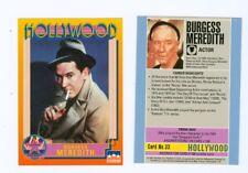 20 of same Burgess Meredith Hollywood Walk Of Fame card Rocky Penguin Batman #33
