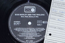 BOB MARLEY & THE WAILERS -Bob, Peter, Bunny- LP 1985 Metronome Archiv-Copy mint