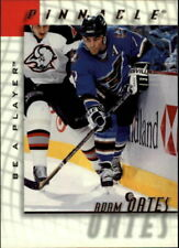 ADAM OATES 1997/98  97/98 PINNACLE BE A PLAYER PROMO CARD #5 WASHINGTON CAPITALS