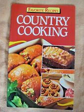 Country Cooking Favorite Recipes English Paperback