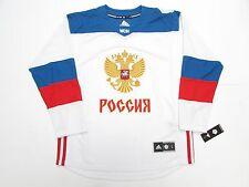 TEAM RUSSIA WHITE 2016 WORLD CUP OF HOCKEY ADIDAS PREMIER HOCKEY JERSEY