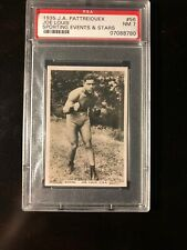 1935 JA Pattreiouex Joe Louis RC #56 PSA 7 NM. Gorgeous!