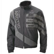 Arctic Cat Men's Race Team Sponsor Graphics Insulated Snowmobile Jacket - Black