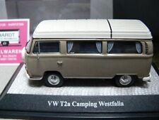 1/43 Premium Classixxs VW T2 a Camping Westfalia avec Roue de secours beige