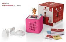 Tonie box  Starterset pink mit Hörfigur Löwe Geschichtenerzähler NEU&OVP tonies