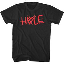 Hole Crossed Heart Logo Men's T Shirt Celebrity Skin Courtney Love Rock Band