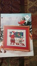NATURES SANTA CHRISTMAS VISIONS SAMPLERS CROSS STITCH PATTERN FREE SHIPPING