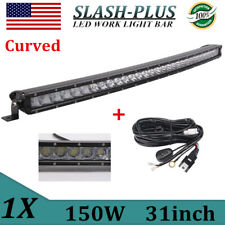 """31""""IN 150w Curved LED Light Bar Truck Driving Lamp For Offroad 4WD 30"""" 32"""" 180W"""
