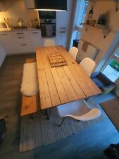 Kitchen dining table and 3 chairs