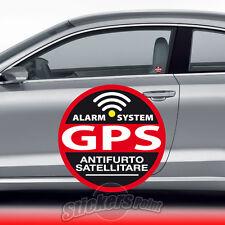 2 ADESIVI ANTIFURTO stickers - GPS - VETRO INTERNO auto BMW #04