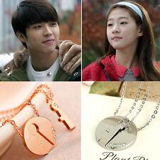 Hi! School Love On Couple Necklace Engraved Pendant Korean Drama Lovers Gift