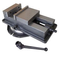"NEW 5"" Milling Machine Lockdown Vise with Swivel Base Hardened Metal CNC Vise"