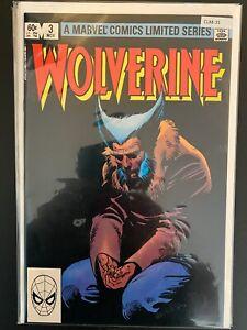 Wolverine 3 Higher Grade Marvel Comic Book CL88-35
