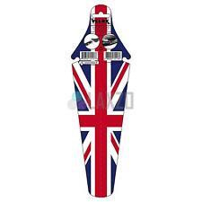 Velox Union Jack Rear Fender Clip On Under Saddle Mudguard MTB - UK