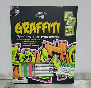Graffiti Art Kit - Spice Box Petit Picasso - Create Street Art Style Lettering