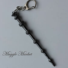 Harry Dumbledore wand keyring. wizard. witch. Deathly Hallows. Magical/mythical