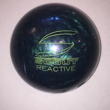 Columbia 300 Scout/R Reactive 15 lbs 13 oz Bowling Ball Jade Green Single Drill