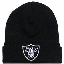 OAKLAND& RAIDERS BEANIE WINTER CAP WRITING NFL HAT CARR MCFADDEN MACK TUCK
