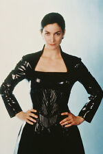 Carrie-Anne Moss In Black Coat The Matrix 11x17 Mini Poster
