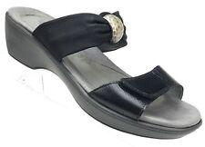 Naot Pinotage Sandals Womens Size EUR 36 - US 5 - 5.5 Black Slides Shoes