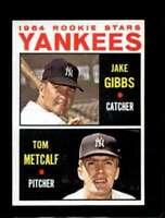 1964 TOPPS #281 JAKE GIBBS/TOM METCALF NMMT (RC) YANKEES ROOKIES *SBA4623
