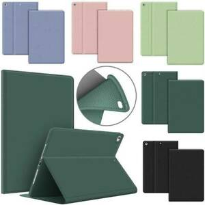 For iPad 5th 6th 7th 8th Gen Air Pro Mini 2 3 4 Folding Leather Case Smart Cover