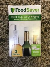 FoodSaver 3-piece Bottle Stoppers Vacuum Sealing Accessory T03-0024-02P